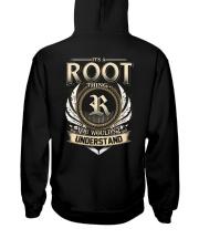 R-O-O-T X1 Hooded Sweatshirt back