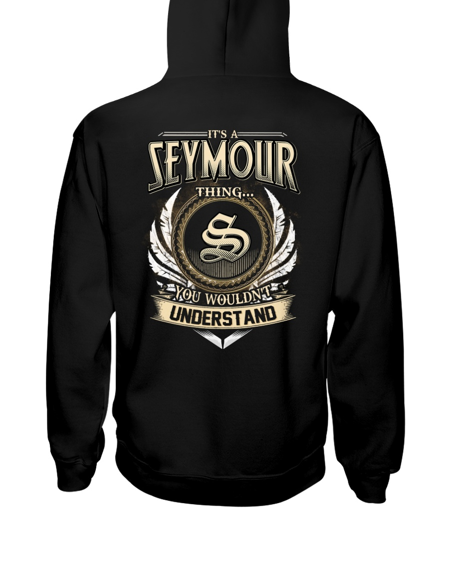 S-E-Y-M-O-U-R X1 Hooded Sweatshirt