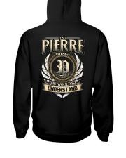 P-I-E-R-R-E X1 Hooded Sweatshirt back
