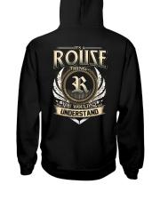 R-O-U-S-E X1 Hooded Sweatshirt back