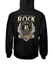 R-O-C-K X1 Hooded Sweatshirt back