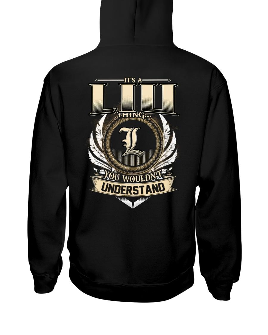 L-I-U k1 Hooded Sweatshirt