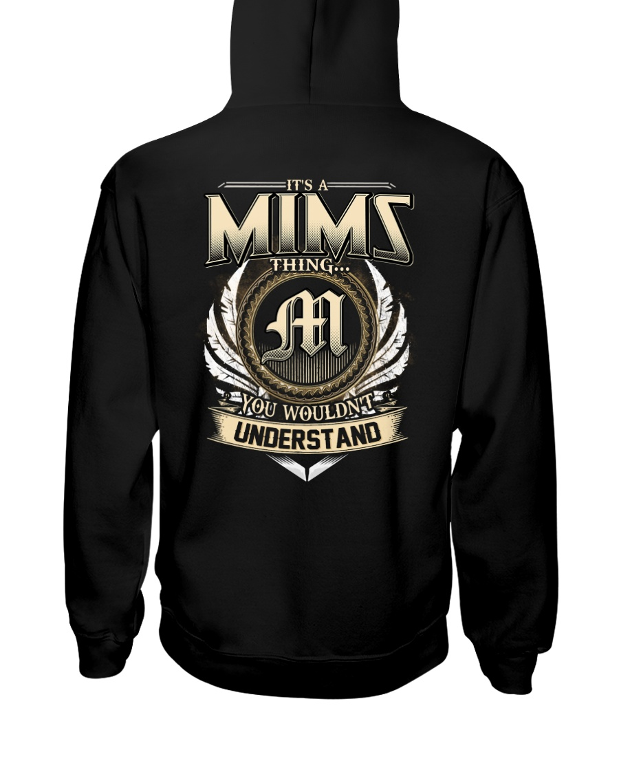 M-I-M-S X1 Hooded Sweatshirt