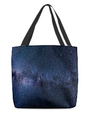 Night sky stars and galaxies All-over Tote thumbnail