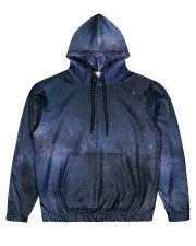 Night sky stars and galaxies Men's All Over Print Hoodie thumbnail