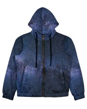 Night sky stars and galaxies Women's All Over Print Full Zip Hoodie thumbnail