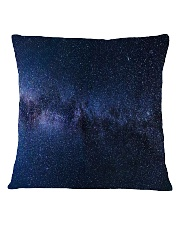 Night sky stars and galaxies Square Pillowcase tile