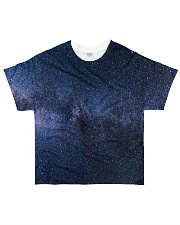 Night sky stars and galaxies All-over T-Shirt thumbnail