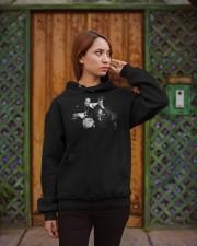 los meros berner AND b real shirt Hooded Sweatshirt apparel-hooded-sweatshirt-lifestyle-02