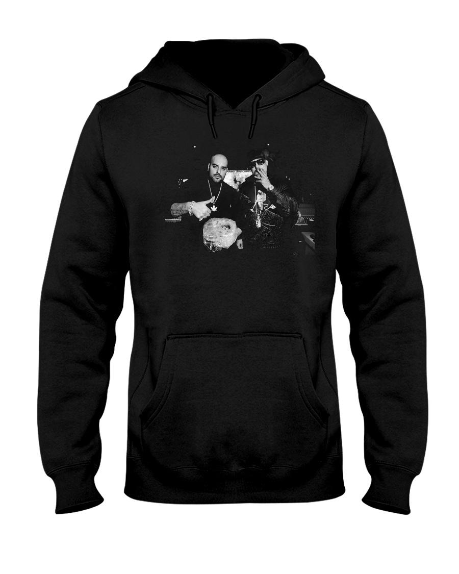 los meros berner AND b real shirt Hooded Sweatshirt