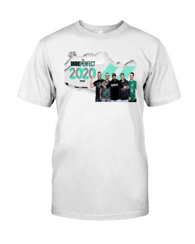 the dude perfect 2020 tour T shirt