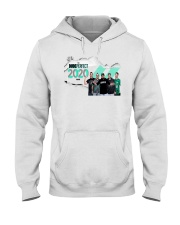 the dude perfect 2020 tour T shirt Hooded Sweatshirt front