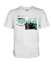 the dude perfect 2020 tour T shirt V-Neck T-Shirt thumbnail