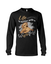Life is better with a woof Long Sleeve Tee thumbnail
