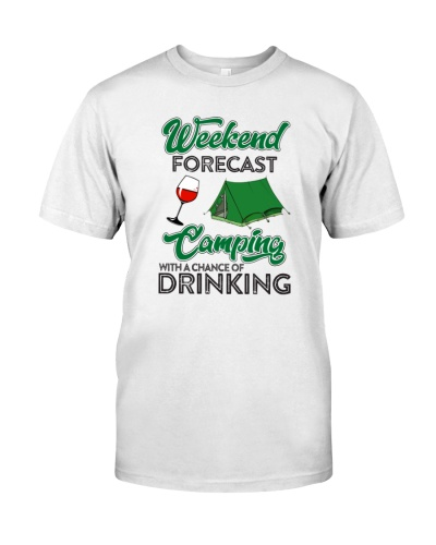 CAMPING DRINKING - TENT - WINE - LIMITED EDITION