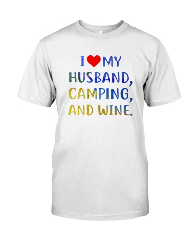 LOVE HUSBAND - CAMPING AND WINE - LIMITED EDITION