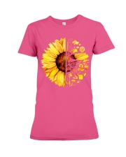 FISHING SUNFLOWER- LIMITED EDITION Premium Fit Ladies Tee front