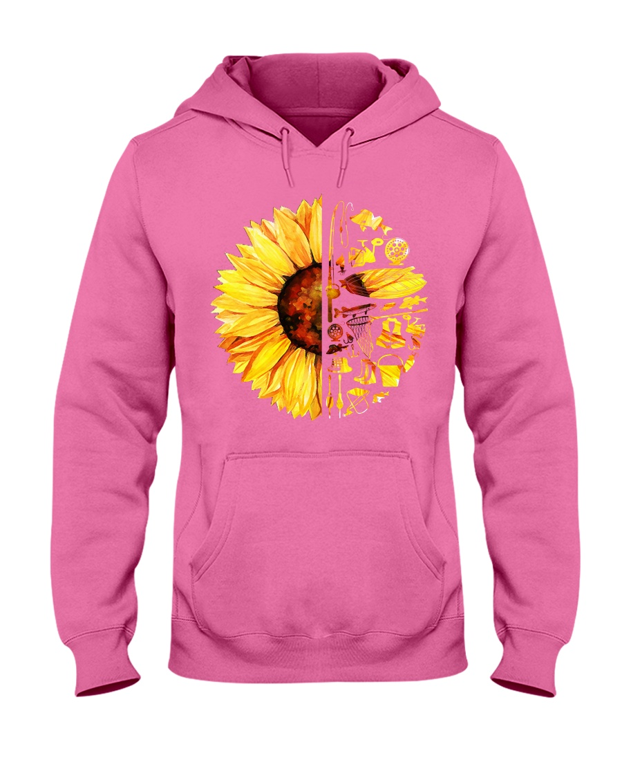 FISHING SUNFLOWER- LIMITED EDITION Hooded Sweatshirt