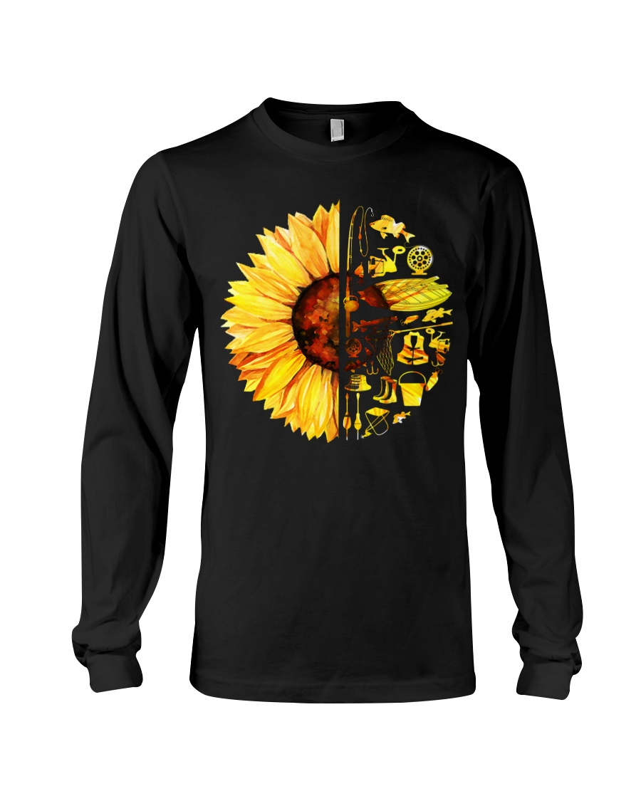 FISHING SUNFLOWER- LIMITED EDITION Long Sleeve Tee