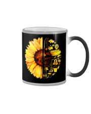 FISHING SUNFLOWER- LIMITED EDITION Color Changing Mug color-changing-right