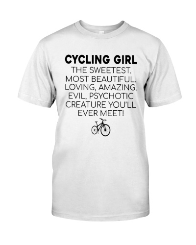 CYCLING - CYCLING GIRL - LIMITED EDITION