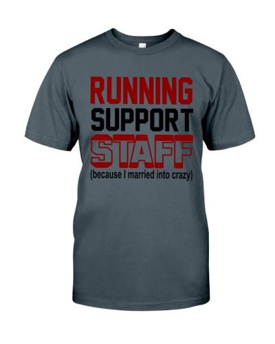 RUNNING SUPPORT STAFF