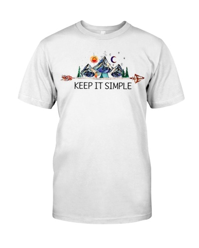 CAMPING - KEEP IT SIMPLE - LIMITED EDITION DH
