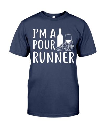 I'M A POUR RUNNER - RUNNING SHIRTS