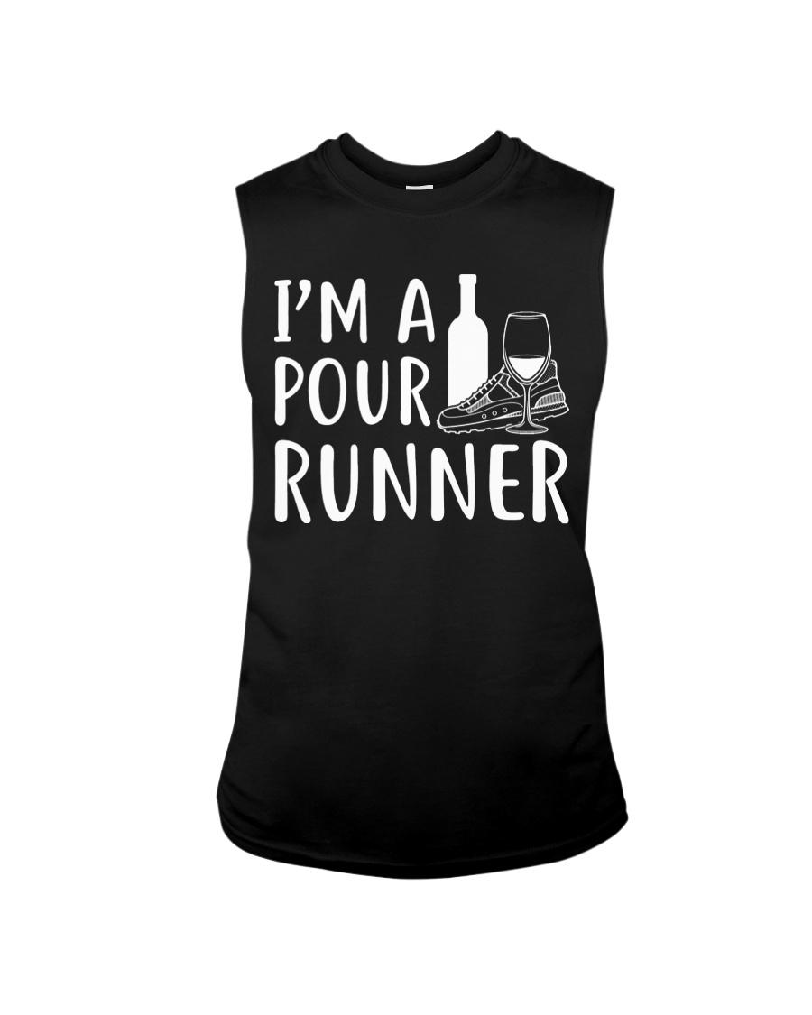 I'M A POUR RUNNER - RUNNING SHIRTS Sleeveless Tee