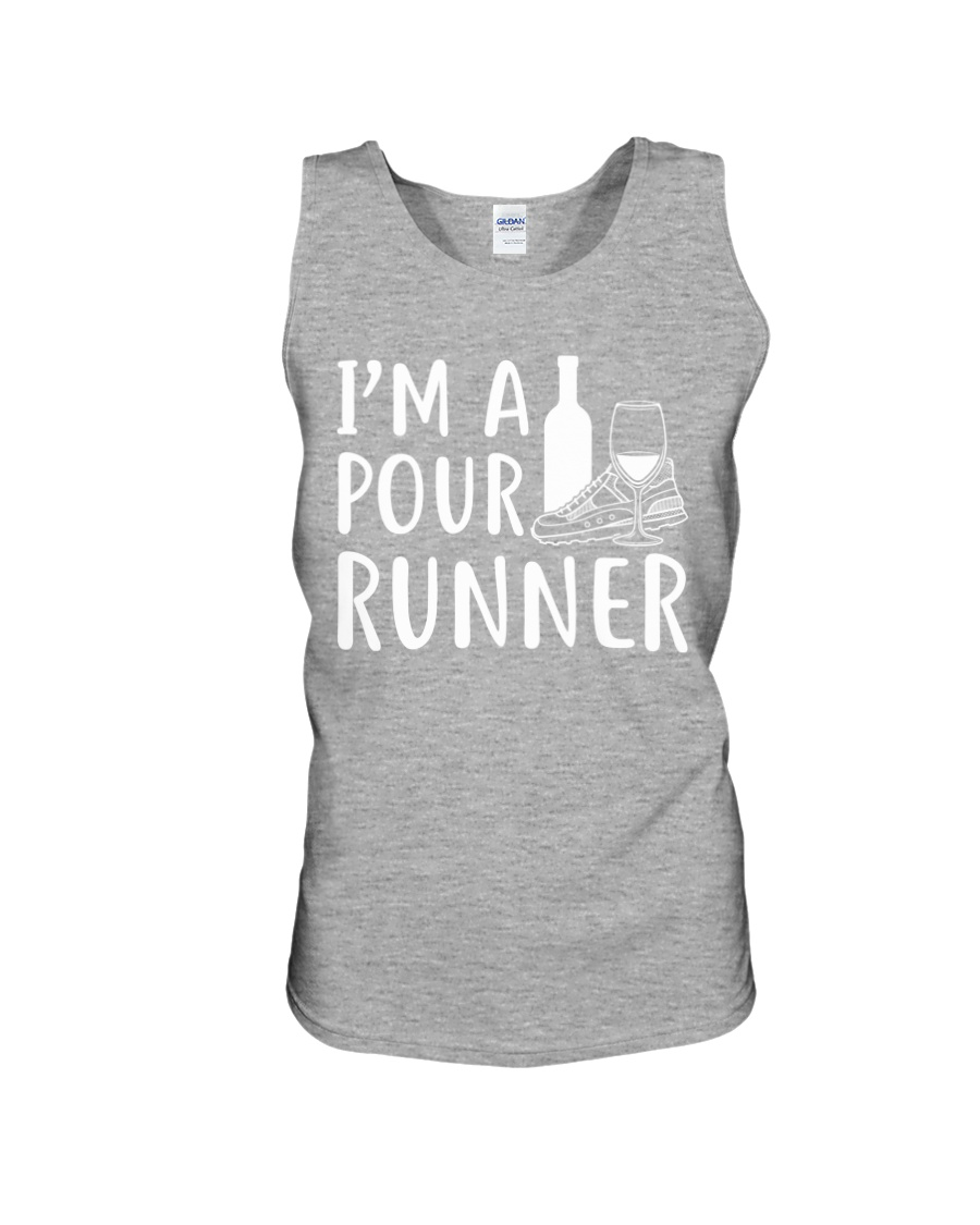 I'M A POUR RUNNER - RUNNING SHIRTS Unisex Tank