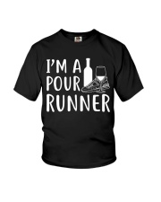 I'M A POUR RUNNER - RUNNING SHIRTS Youth T-Shirt thumbnail