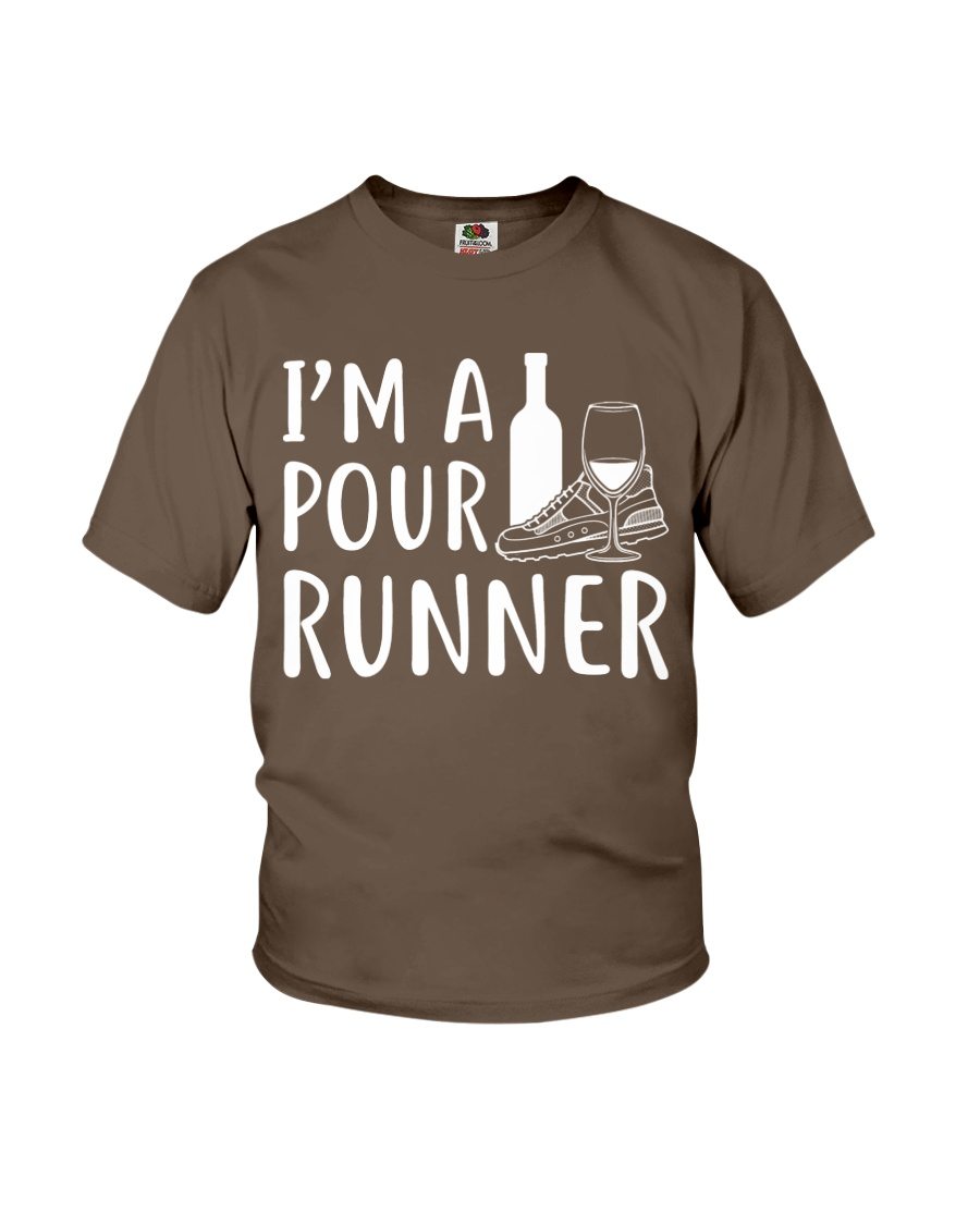 I'M A POUR RUNNER - RUNNING SHIRTS Youth T-Shirt