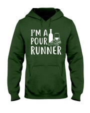 I'M A POUR RUNNER - RUNNING SHIRTS Hooded Sweatshirt front