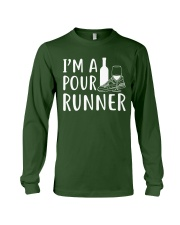 I'M A POUR RUNNER - RUNNING SHIRTS Long Sleeve Tee front