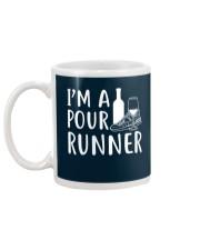 I'M A POUR RUNNER - RUNNING SHIRTS Mug back