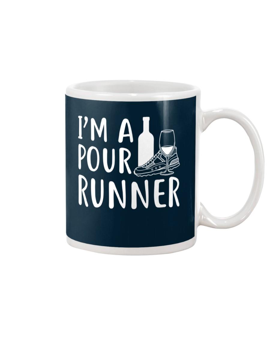I'M A POUR RUNNER - RUNNING SHIRTS Mug