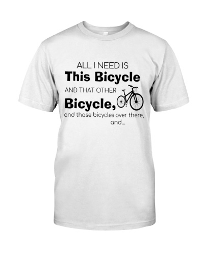 ALL I NEED IS THIS BICYCLE - LIMITED EDITION