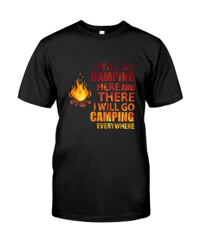 CAMPING - GO CAMPING EVERYWHERE - LIMITED EDITION