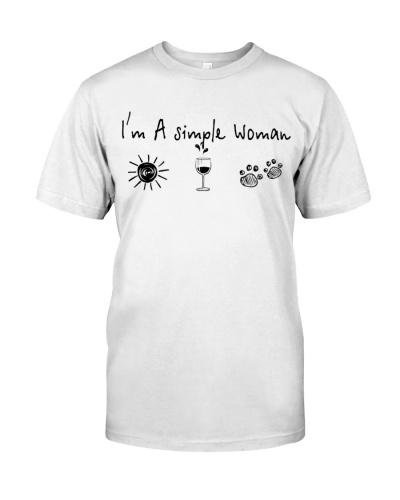 SUNSHINE - WINE - DOG - WOMAN - LIMITED EDITION