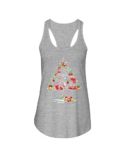 NEW CHRISTMAS FISHING SHIRT - LIMITED EDITION Ladies Flowy Tank front