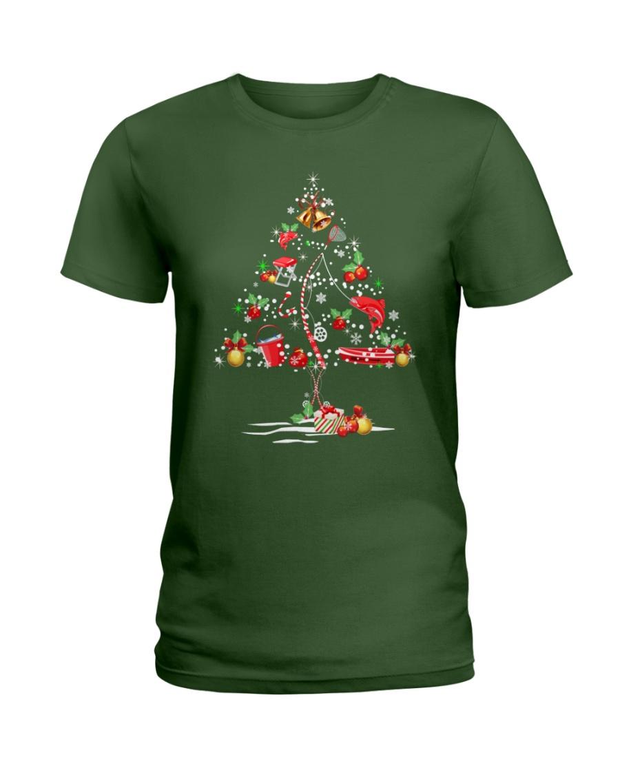 NEW CHRISTMAS FISHING SHIRT - LIMITED EDITION Ladies T-Shirt