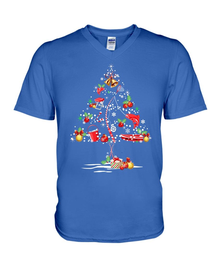 NEW CHRISTMAS FISHING SHIRT - LIMITED EDITION V-Neck T-Shirt