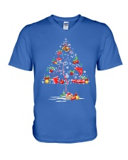 NEW CHRISTMAS FISHING SHIRT - LIMITED EDITION V-Neck T-Shirt front