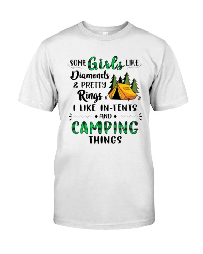 CAMPING - I LIKE IN TENTS - LIMITED EDITION