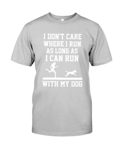 I DON'T CARE AS LONG AS I CAN RUN