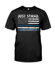 JUST STAND- LIMITED EDITION Premium Fit Mens Tee front