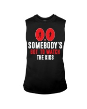 SOMEBODY'S GOT TO WATCH THE KIDS - RUNNING SHIRTS Sleeveless Tee tile