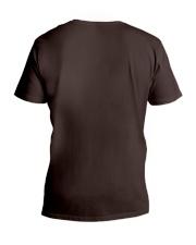 SOMEBODY'S GOT TO WATCH THE KIDS - RUNNING SHIRTS V-Neck T-Shirt back
