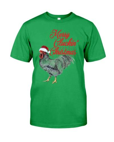 MERRY CLUCKIN' CHRISTMAS - CHRISTMAS SHIRT