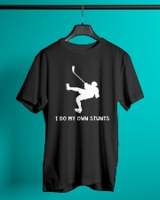 NEW I DO MY OWN STUNTS HOCKEY SHIRT Classic T-Shirt lifestyle-mens-crewneck-front-3